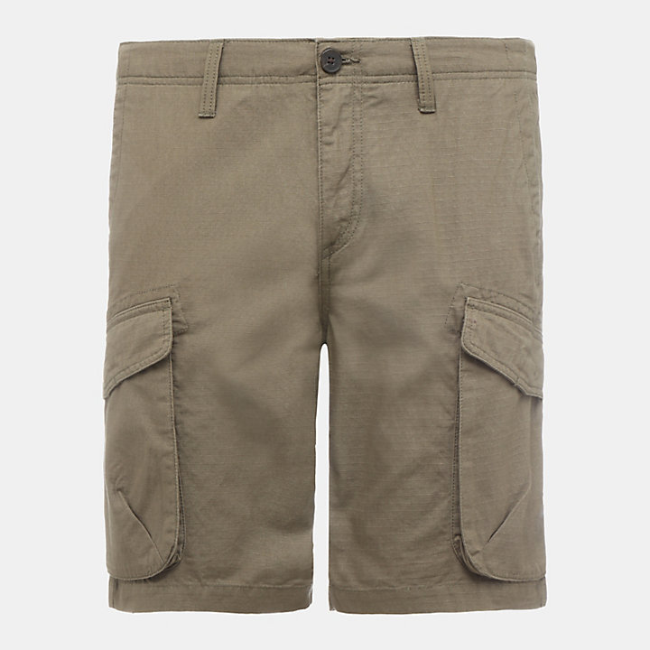 Shorts Cargo da Uomo Webster Lake in verde-