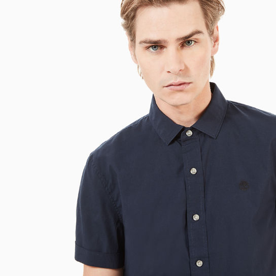 Eastham River SS Shirt for Men in Navy | Timberland