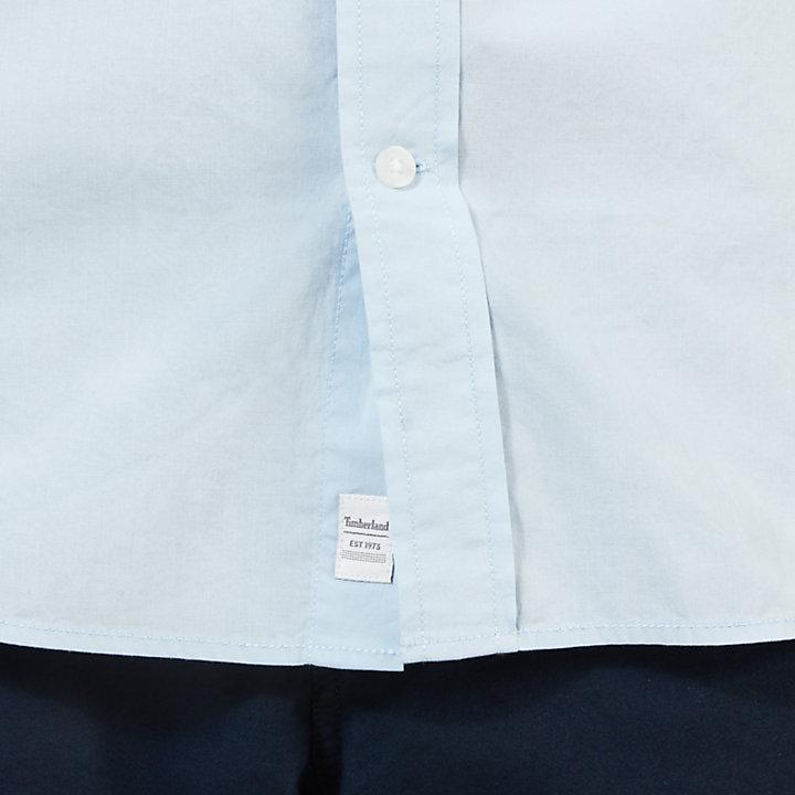 Eastham River SS Shirt for Men in Blue-