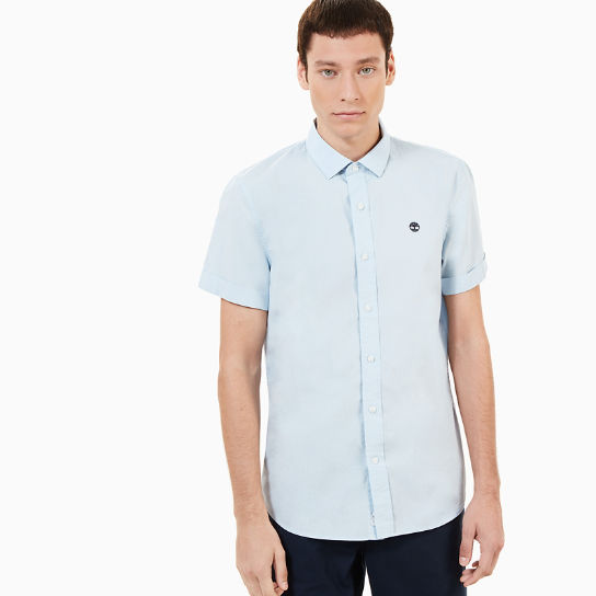 Eastham River SS Shirt for Men in Blue | Timberland