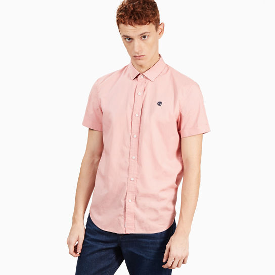 Eastham River SS Shirt for Men in Pink | Timberland