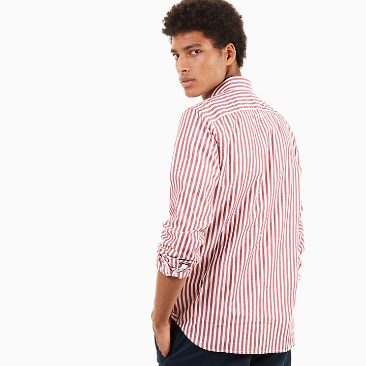 Chemise Eastham River Eclectic pour homme en Rouge-