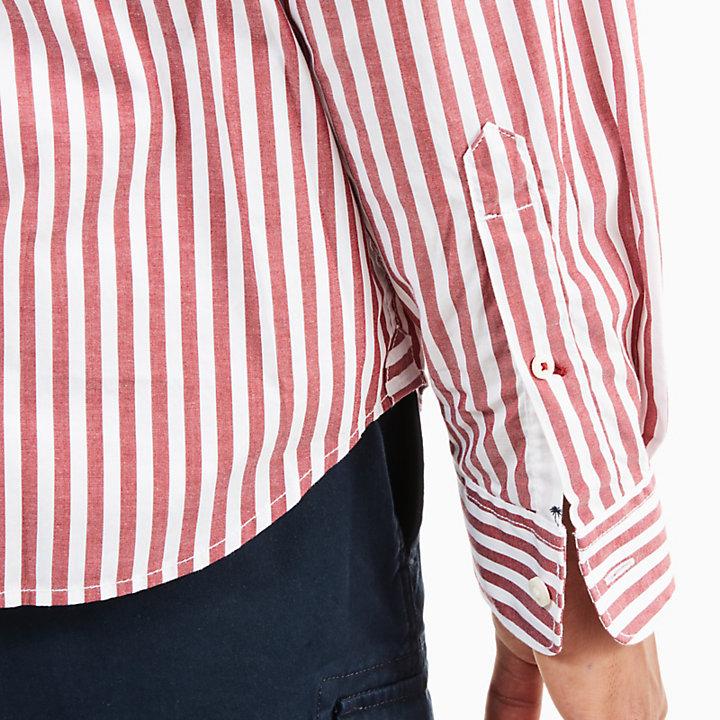 Camisa Eastham River Eclectic para Hombre en Rojo-