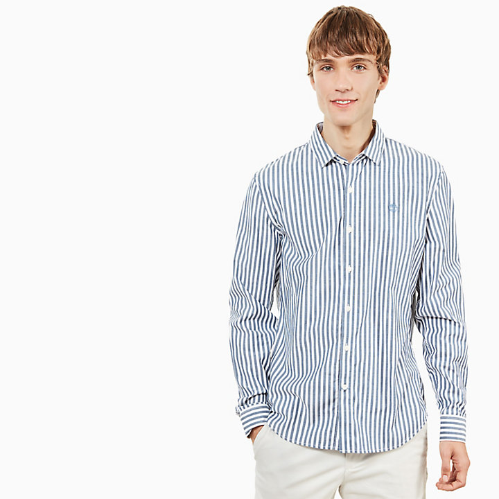 Eastham River Eclectic Shirt for Men in Light Blue-