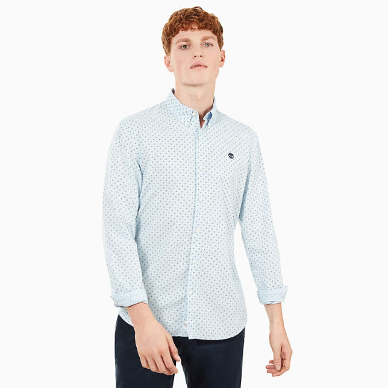 Suncook River Printed Shirt for Men in Blue | Timberland
