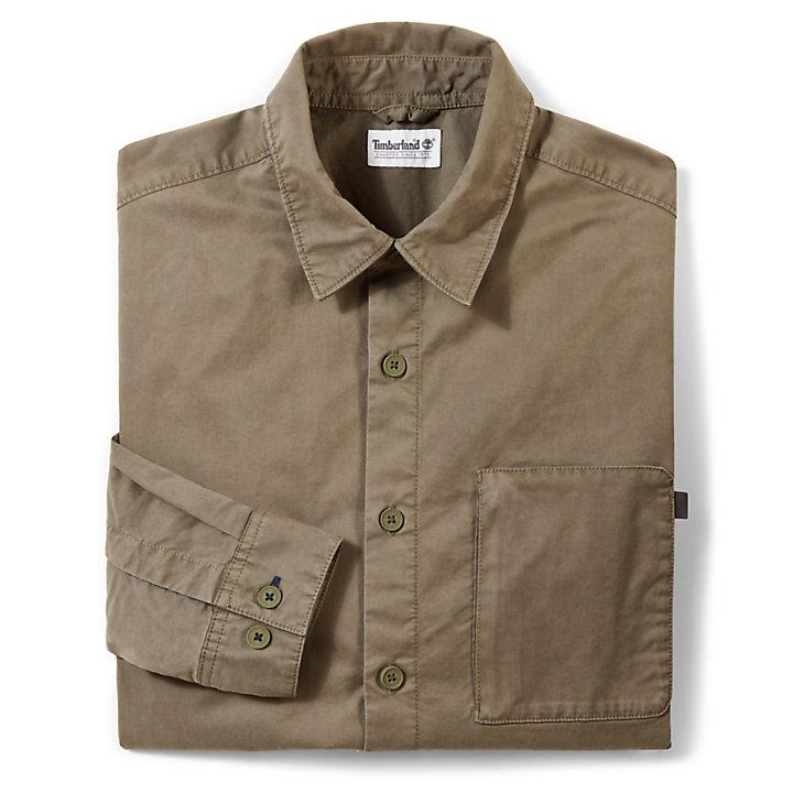 Camicia Utility da Uomo Smith River Verde-