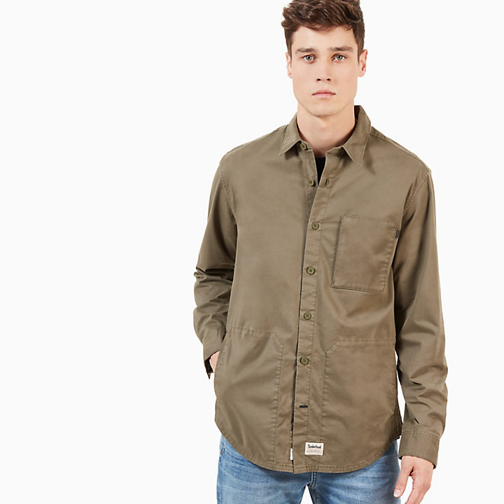 Smith River Utility Shirt for Men in Green-