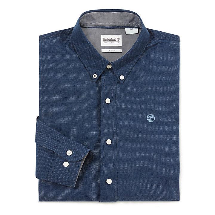 Camisa Tioga River para Hombre en Azul Marino-