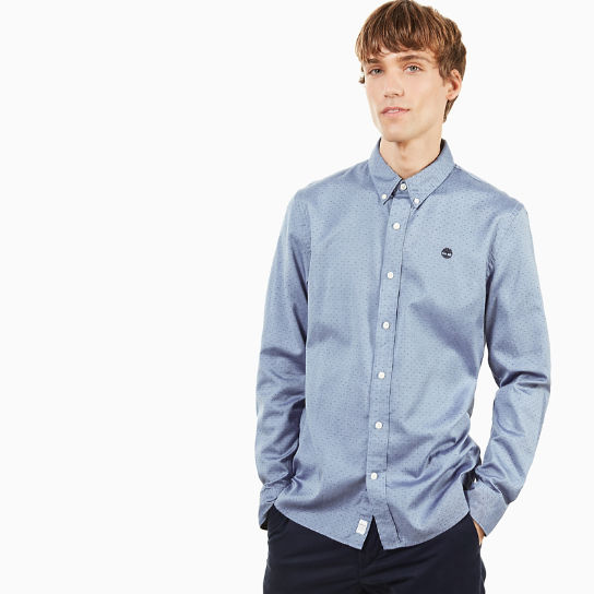Tioga River Shirt for Men in Light Blue | Timberland
