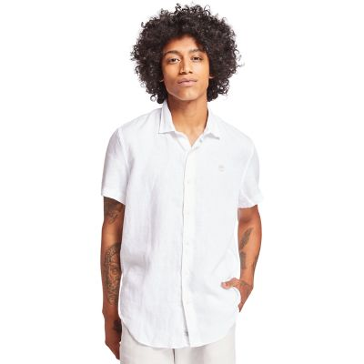 Mill+River+Linen+Shirt+for+Men+in+White