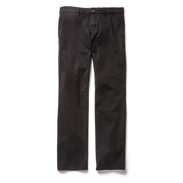 Squam Lake Twill Chinohose für Herren in Schwarz-