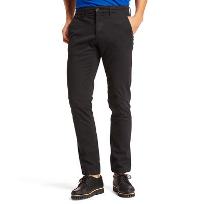 Squam+Lake+Twill+Chinos+for+Men+in+Black