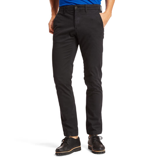 Squam Lake Twill Chinos for Men in Black | Timberland