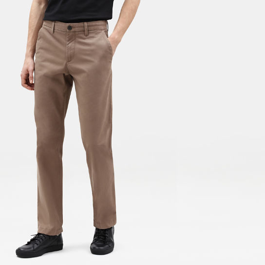Squam Lake Twill Chinos for Men in Beige | Timberland