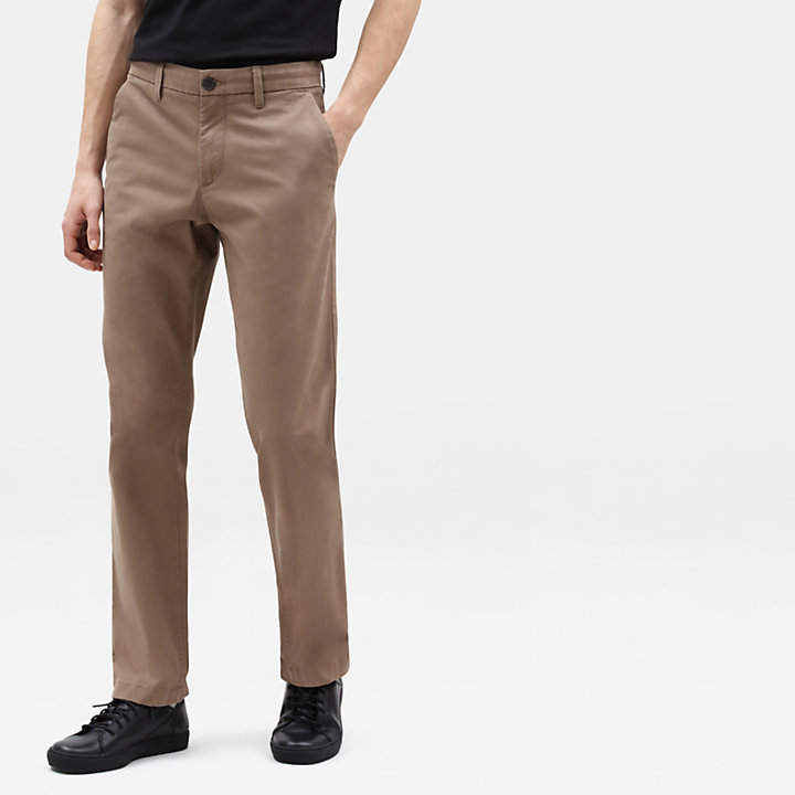 Squam Lake Twill Chino voor Heren in beige-