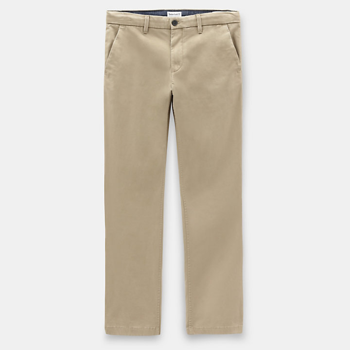 Squam Lake Twill Chinohose für Herren in Kaki-