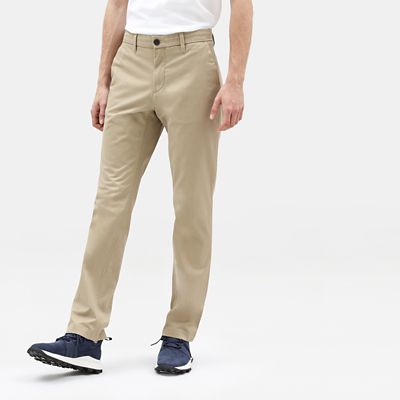 Pantaloni+Chino+da+Uomo+in+Twill+Squam+Lake+in+kaki
