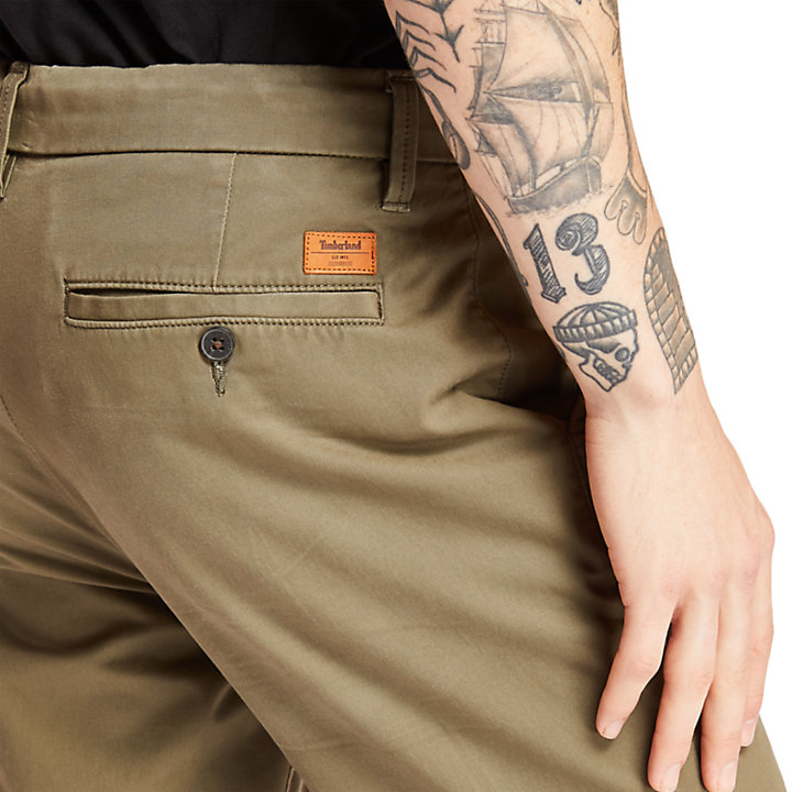 Chino Squam Lake pour homme en marron-