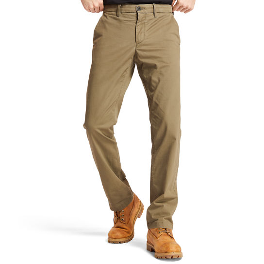 Squam Lake Twill Chinos for Men in Green | Timberland