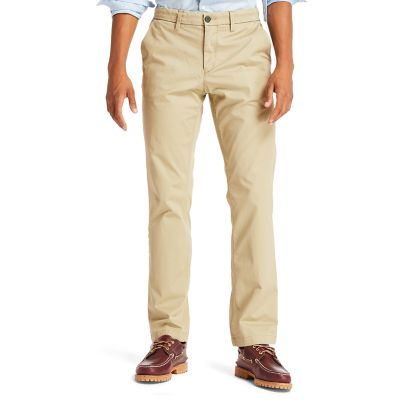 Squam+Lake+Twill+Chinos+for+Men+in+Beige