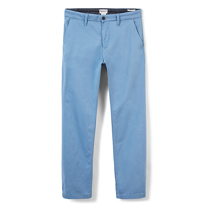 Squam Lake Twill Chinohose für Herren in Hellblau-