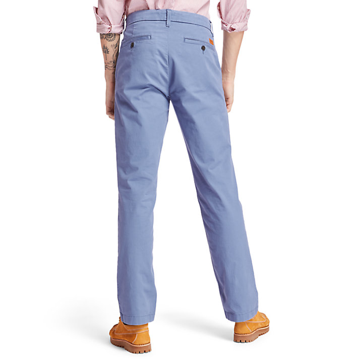 Pantaloni Chino da Uomo Squam Lake in blu-