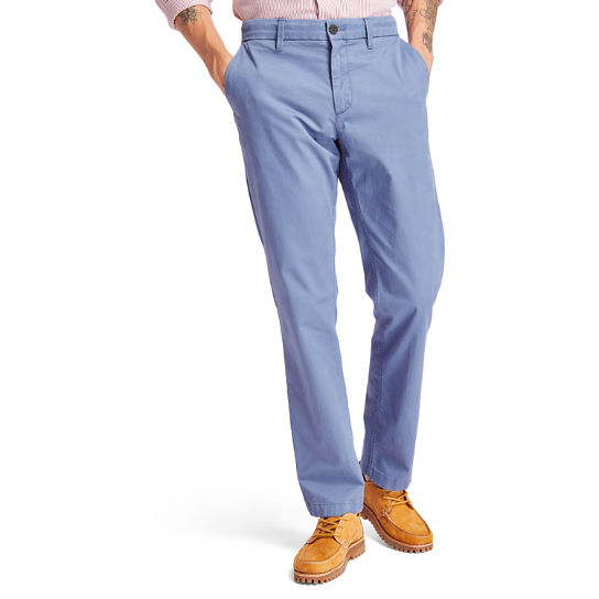 Pantaloni Chino da Uomo Squam Lake in blu | Timberland