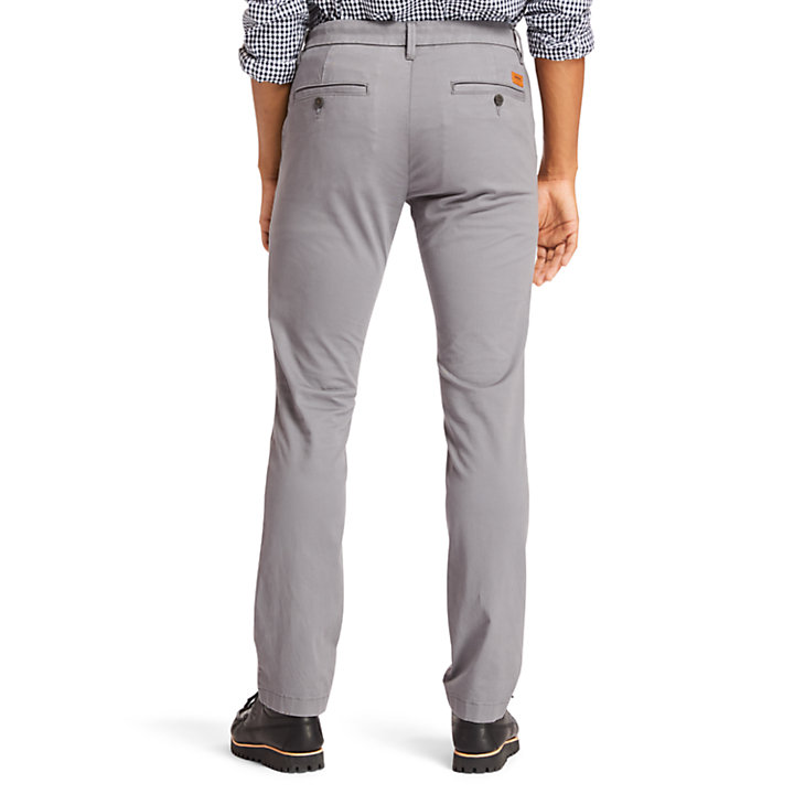Sargent Lake Slim-Fit Chino voor Heren in grijs-