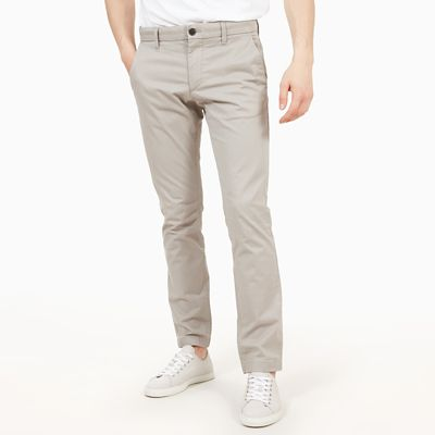 Sargent+Lake+Twill+Chinos+for+Men+in+Light+Grey