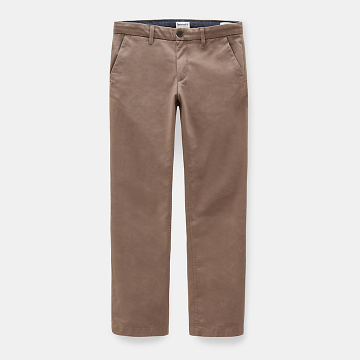 Sargent Lake Stretch-Chino für Herren in Braun-