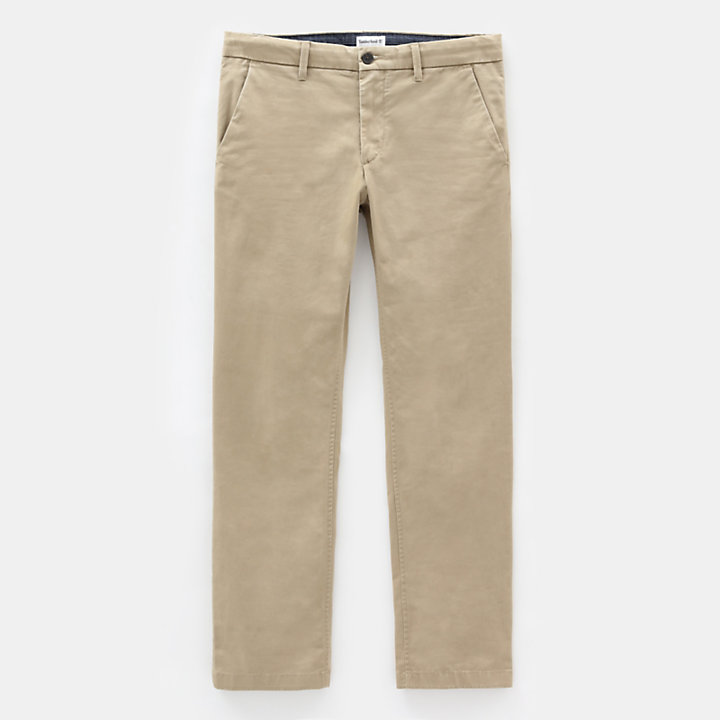 Sargent Lake Stretch-Chino für Herren in Kaki-