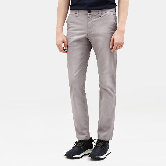 Sargent Lake Stretch Chinos for Men in Grey | Timberland