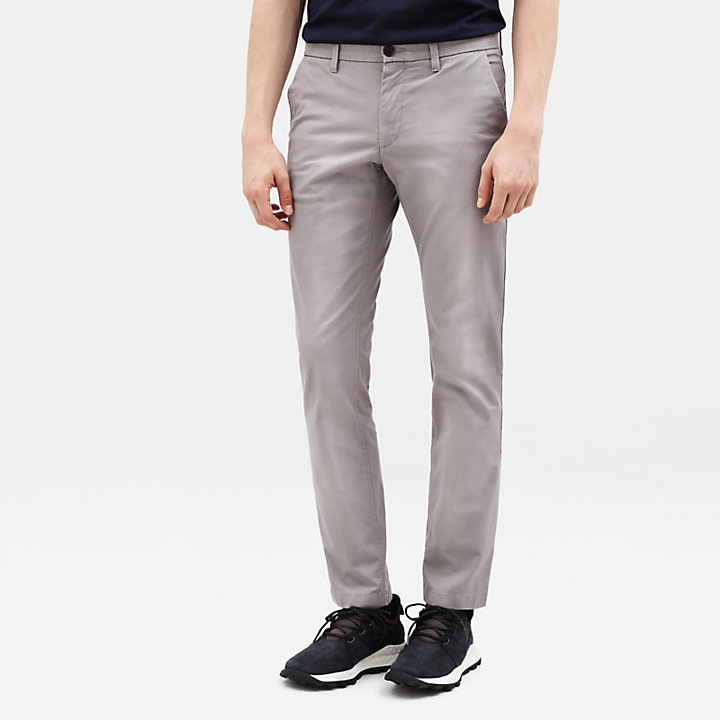 Sargent Lake Stretch-Chino für Herren in Grau-