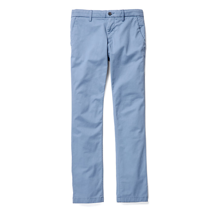 Pantaloni Chino da Uomo Sargent Lake Slim-Fit in blu-