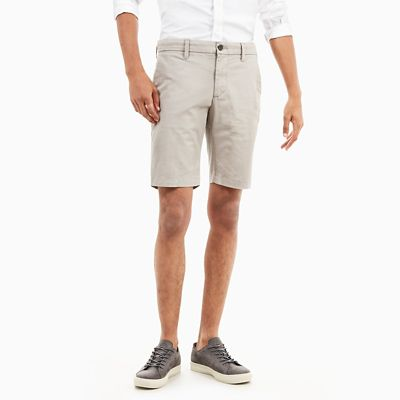 Squam+Lake+Chino+Short+voor+Heren+in+Grijs-beige