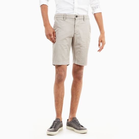 Squam Lake Chino Short voor Heren in Grijs-beige | Timberland