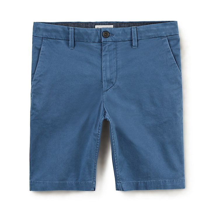 Squam Lake Chino Short voor Heren in Indigo-