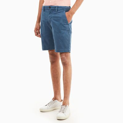 Short+chino+Squam+Lake+pour+homme+en+indigo