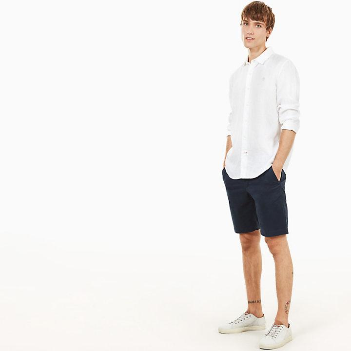 Squam Lake Chino Shorts for Men in Navy-