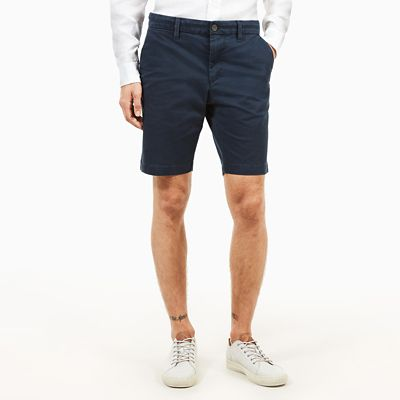 Squam+Lake+Chino+Short+voor+Heren+in+Marineblauw