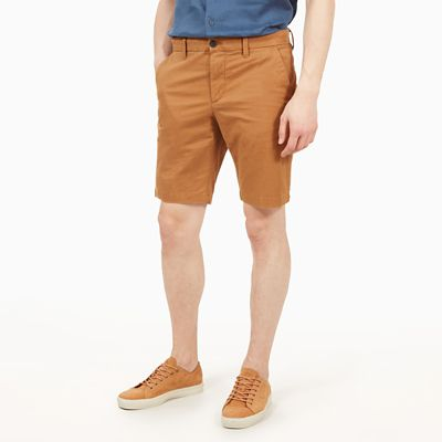 Short+chino+Squam+Lake+pour+homme+en+fauve