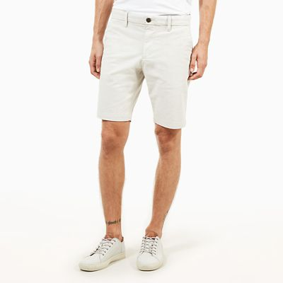Squam+Lake+Chino+Short+voor+Heren+in+Lichtgrijs