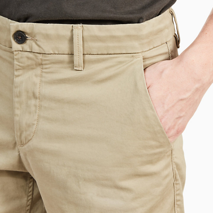 Short chino Squam Lake pour homme en beige-