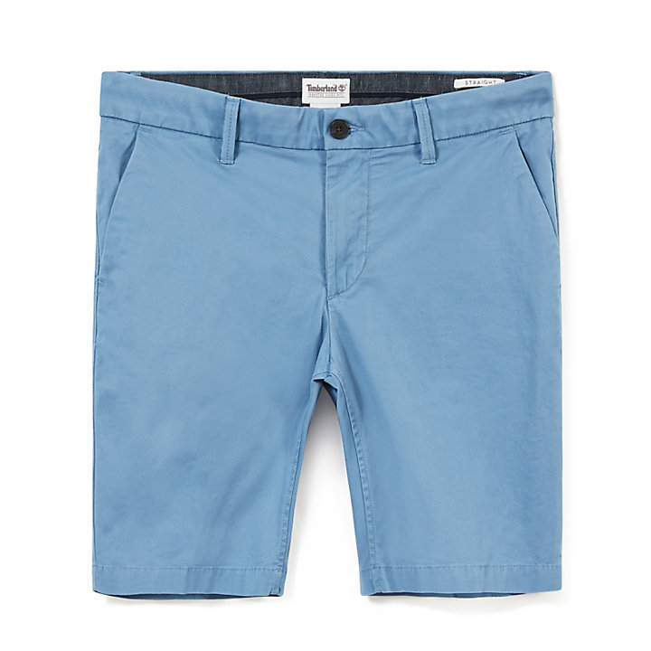 Squam Lake Chino Shorts for Men in Light Blue-