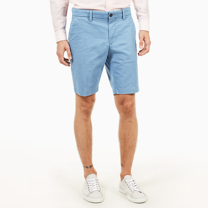 Squam Lake Chinoshorts für Herren in Hellblau-