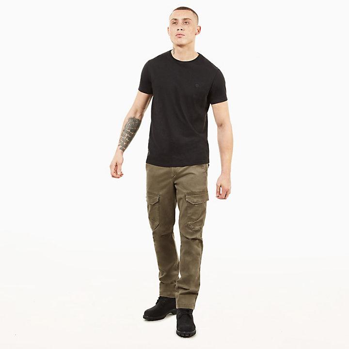Pantaloni Cargo da Uomo Squam Lake Verde Scuro-
