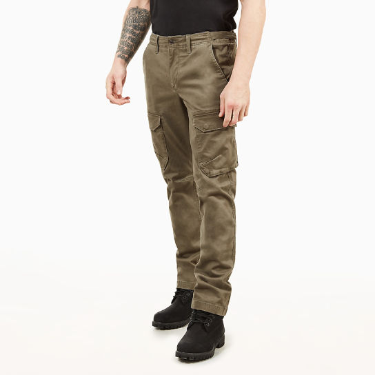 Squam Lake Cargo Trousers for Men in Dark Green | Timberland