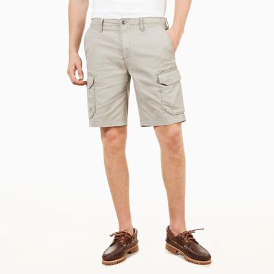 Squam+Lake+Cargo+Shorts+for+Men+in+Grey