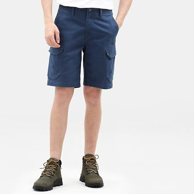 Short+cargo+Webster+Lake+pour+homme+en+bleu