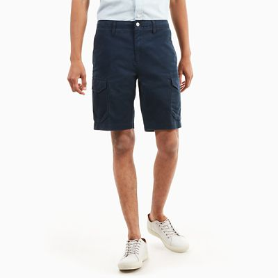 Squam+Lake+Cargo+Shorts+for+Men+in+Navy